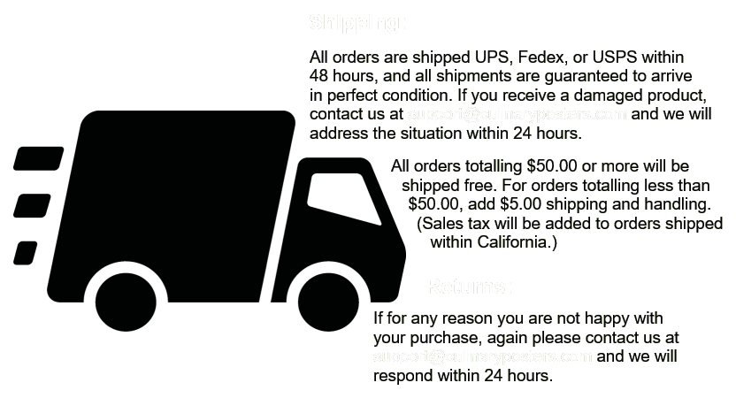Shipping and Returns Policy